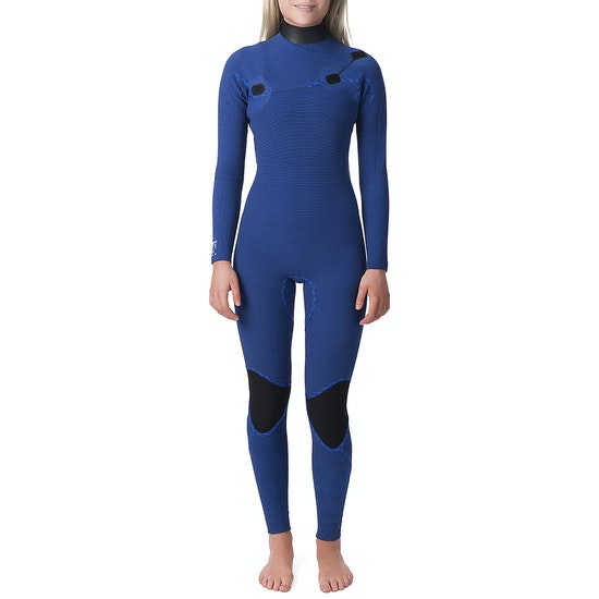 Rip Curl G Bomb 3/2mm Zip Free Womens Wetsuit