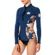 Rip Curl G Bomb Long Sleeve Front Zip Sub Womens Wetsuit Jacket