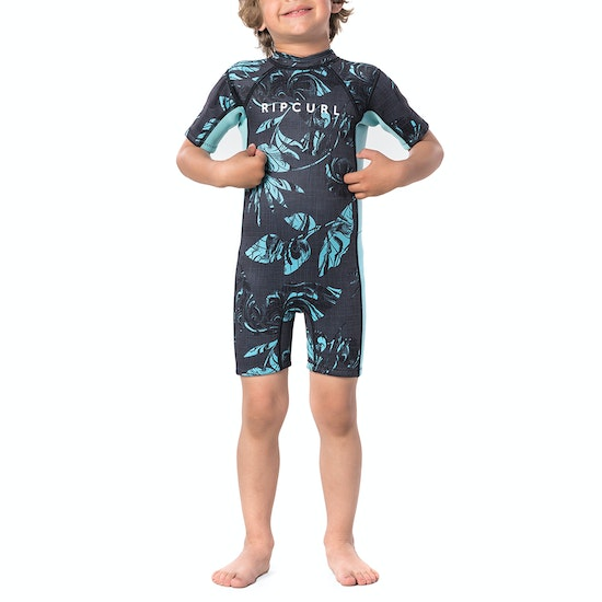 Rip Curl Groms Dawn Patrol Short Sleeve Kids Wetsuit