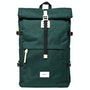 Dark Green With Natural Leather
