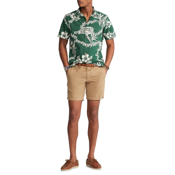 Polo Ralph Lauren Custom Fit Tropical Kurzarmhemd