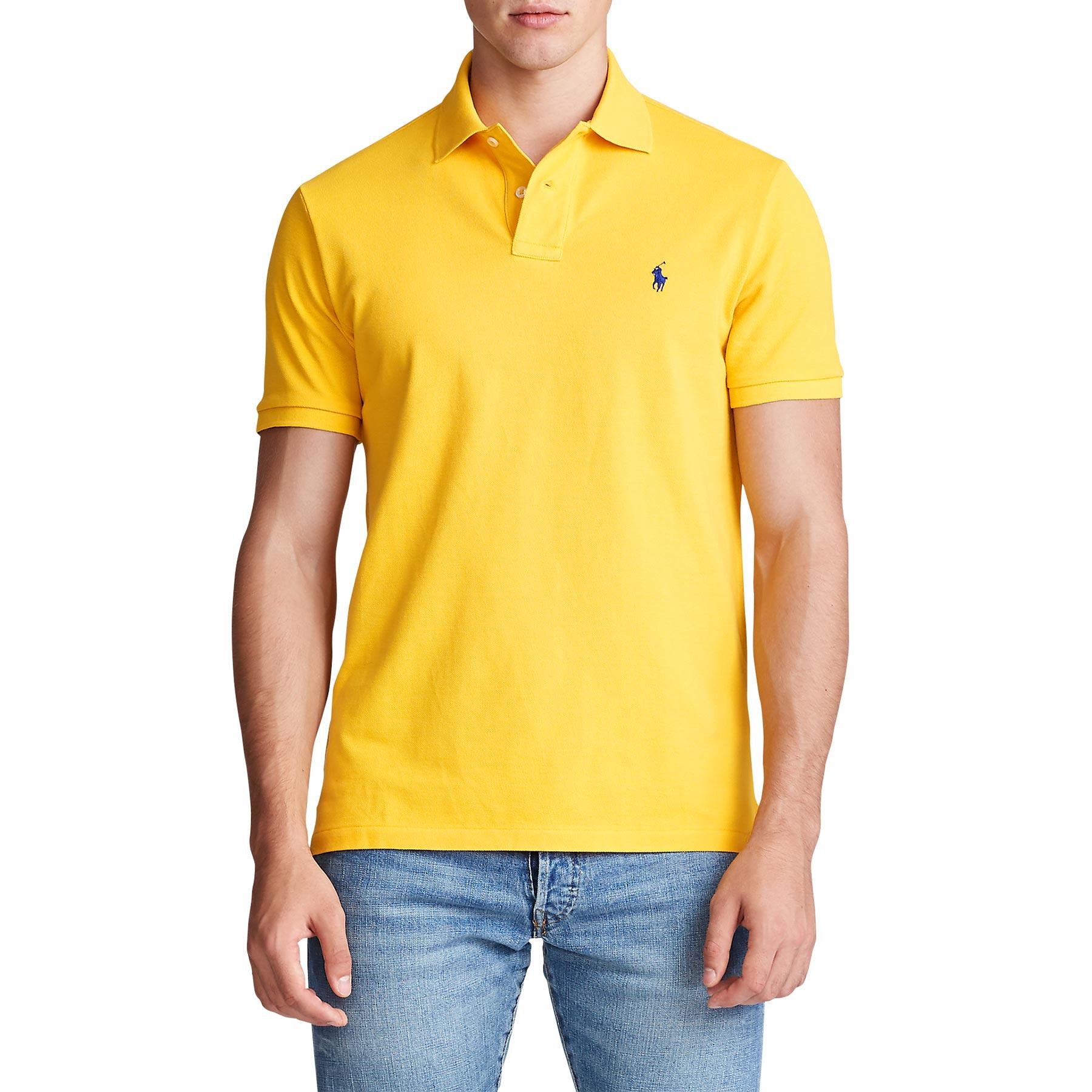Polo Ralph Lauren Classic Fit Mesh Men's Polo Shirt - Slicker ...
