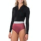 Rip Curl Searchers 1mm Long Sleeve Shorty Wetsuit