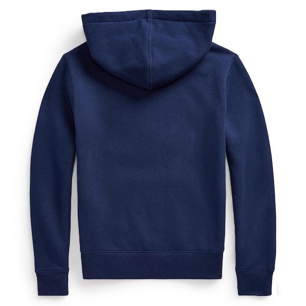 Polo Ralph Lauren Flag Logo Fleece Pullover hettegenser