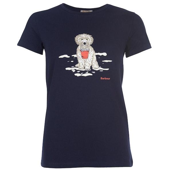 Barbour Beach Dog Women's Short Sleeve T-Shirt