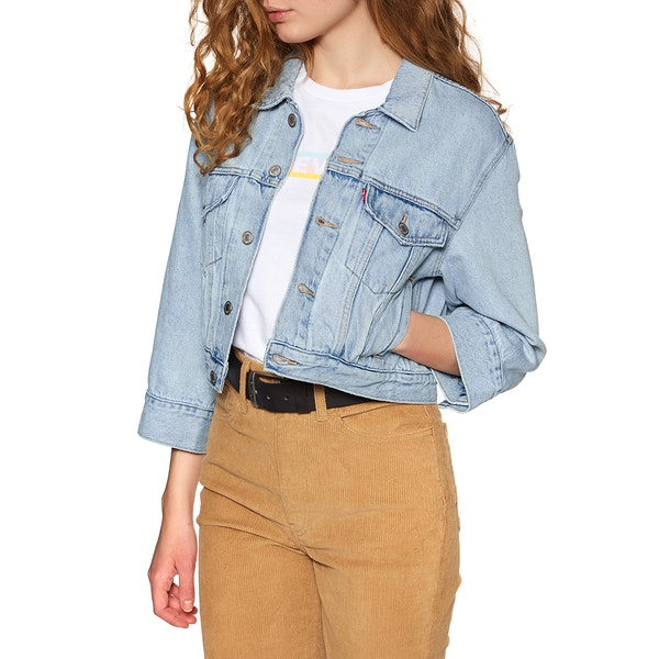Levi's Loose Sleeve Trucker Damen Jacke