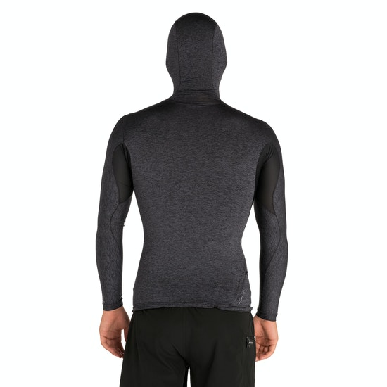 Rip Curl Tech Bomb Long Sleeve Hood Rash Vest