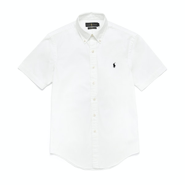 Polo Ralph Lauren Chino Overhemd Korte Mouwen