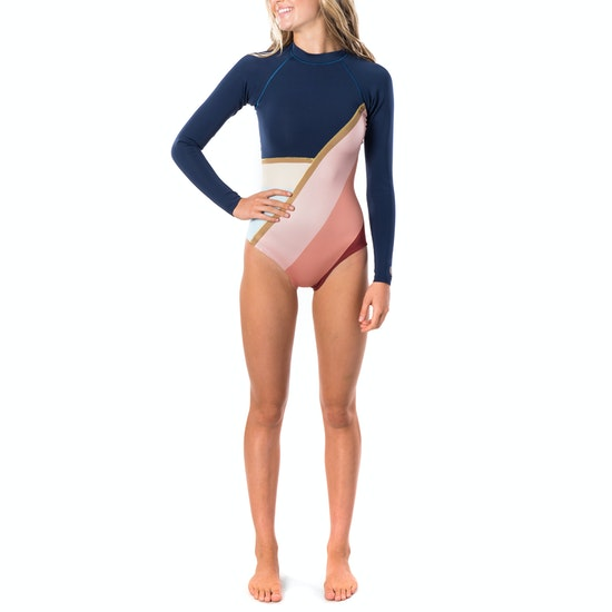 Rip Curl G Bomb Searchers Cheeky Long Sleeve Shorty Womens Wetsuit