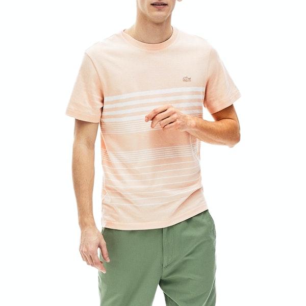 T-Shirt à Manche Courte Lacoste Seasonal