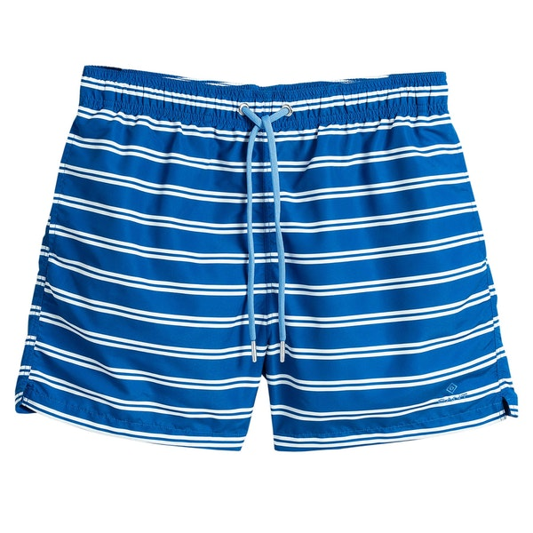 Gant Double Breton Stripe Classic Fit Swim Shorts