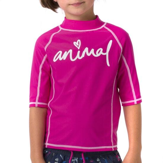Animal Molli Girls Rash Vest