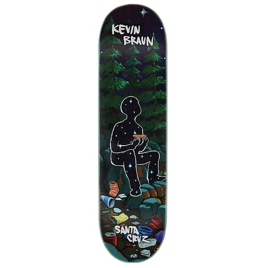 Santa Cruz Braun Campout Skateboard Deck