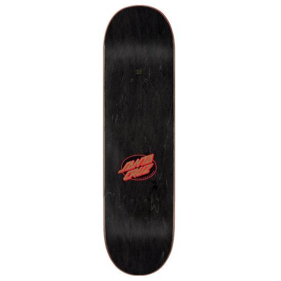 Santa Cruz Mummy Hand Wide Tip Skateboard Deck