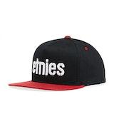 Etnies Corp Snapback Cap - Black/red
