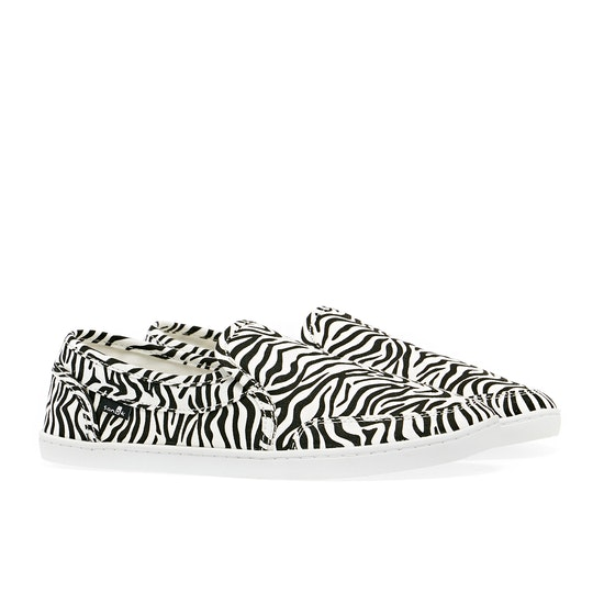 Sanuk Pair O Dice Prints Womens Slip On Shoes
