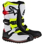 White Red Yellow Fluo Black
