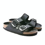 Birkenstock Arizona Big Buckle Waxy Leather Sandaler