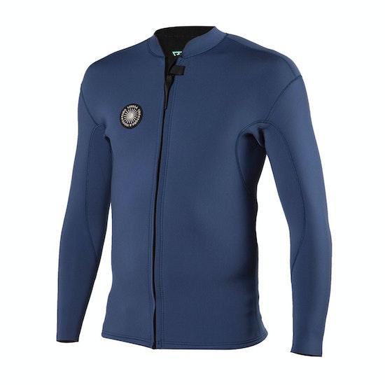 Vissla 2mm Solid Sets Front Zip Wetsuit Jacket
