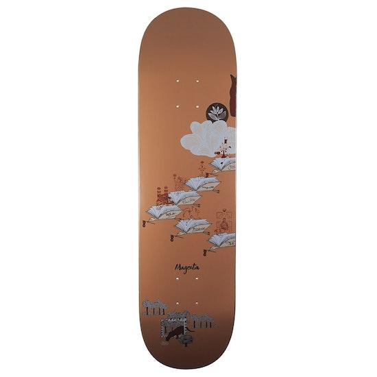 Magenta Bird Clan Skateboard Deck