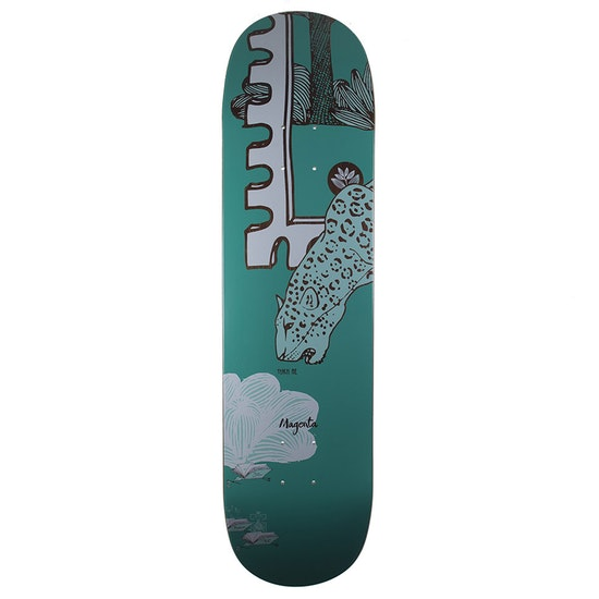 Magenta Jaguar Skateboard Deck