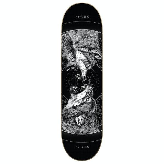 SOVRN Geri & Freki Skateboard Deck