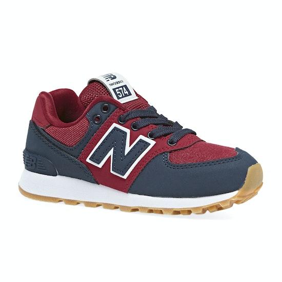 Chaussures Enfant New Balance 574 Lace