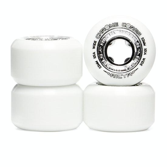 Ricta Chrome Core Silver Wide 101a Skateboard Wheel