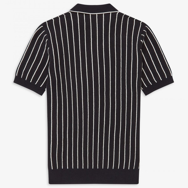 Fred Perry Stripe Knitted Shirt