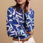 Gant Crescent Floral Cotton Silk Women's Shirt