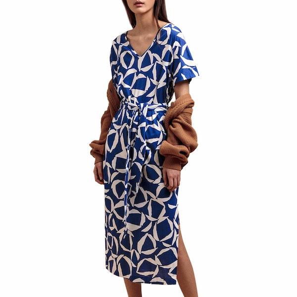 Gant Cresent Floral Jersey Šaty