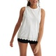 Superdry Lace Mix Womens Tank Vest