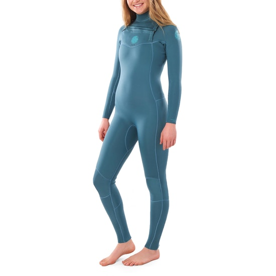 Rip Curl Dawn Patrol 4/3mm Chest Zip Womens Wetsuit
