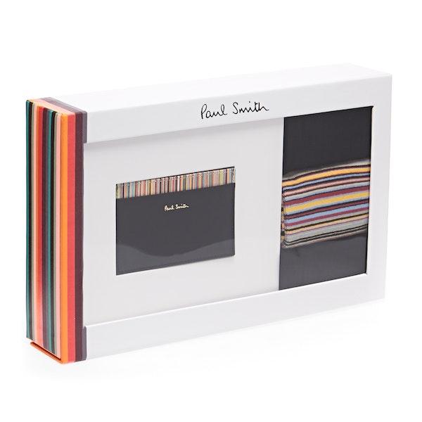 Paul Smith Card Holder And Sock Herren Gift Set