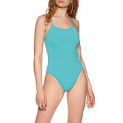 Maillot de Bain Nike Swim Poly Solid Hydrastrong Cut-out One Piece