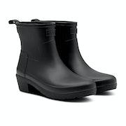 Hunter Refined Low Heel Ankle Biker Women's Wellington Boots