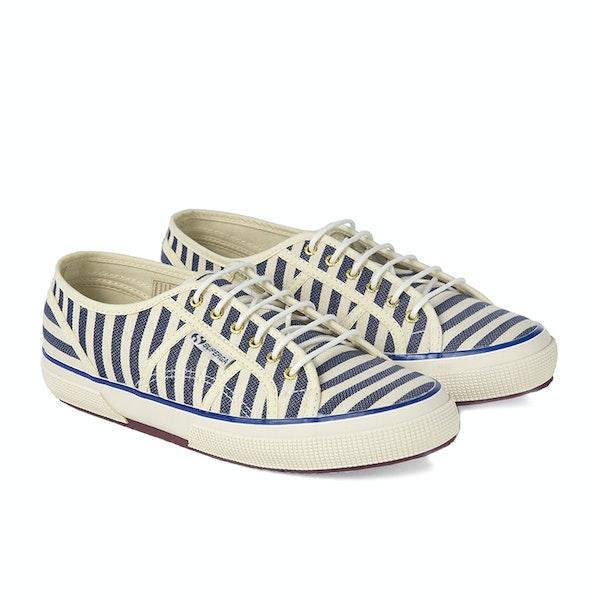 Maison Scotch Superga Classic Stripe Women's Shoes