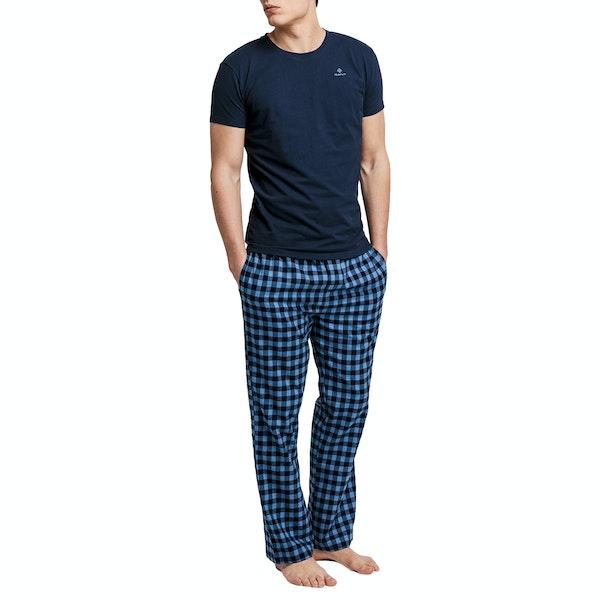 Gant Flannel Logo Pyjamas