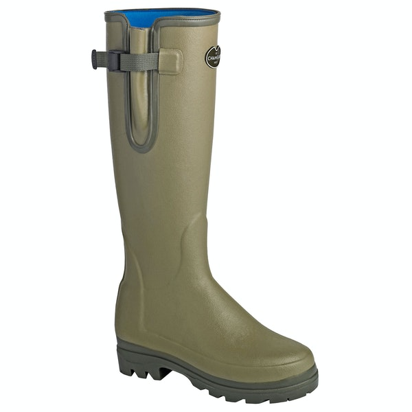Le Chameau Vierzonord XL Neoprene Men's Wellington Boots