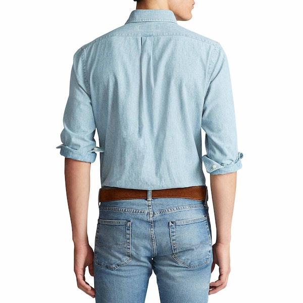 Polo Ralph Lauren Custom Fit Chambray Men's Shirt