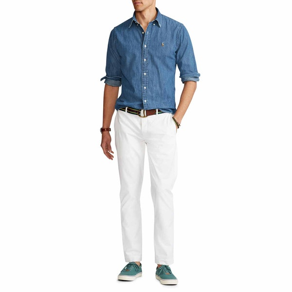 Polo Ralph Lauren Custom Fit Denim Herren Hemd