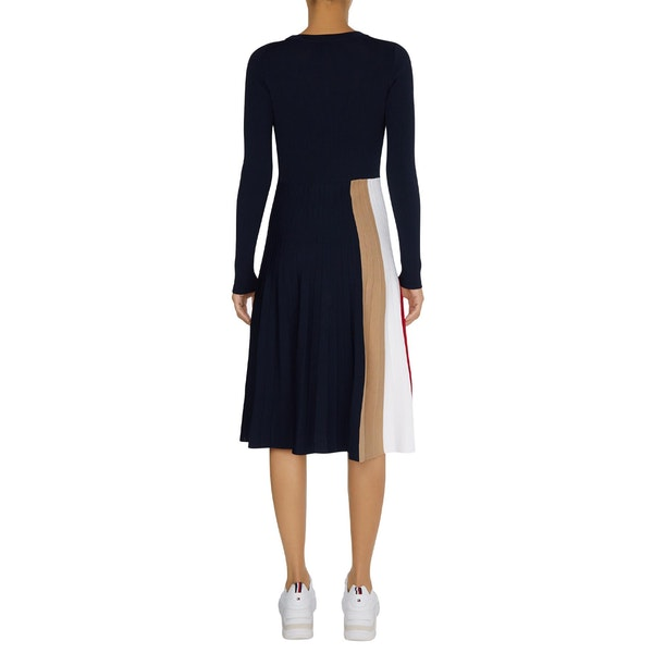 Tommy Hilfiger Icon Pleated Dress