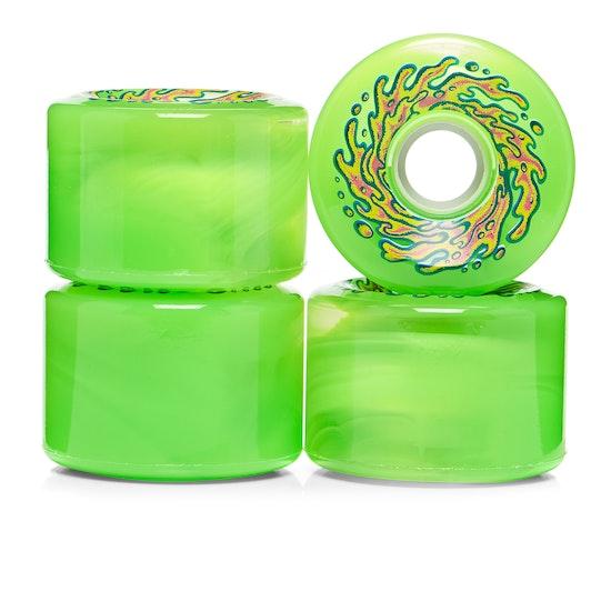 Santa Cruz Slime Balls Og Slime Trans 78a Skateboard Wheel