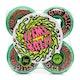 Santa Cruz Slime Balls Toxic Terror Speed Balls 99a Skateboard Wheel