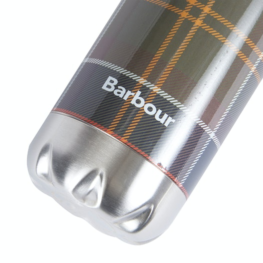 Barbour Tartan Water Bottle