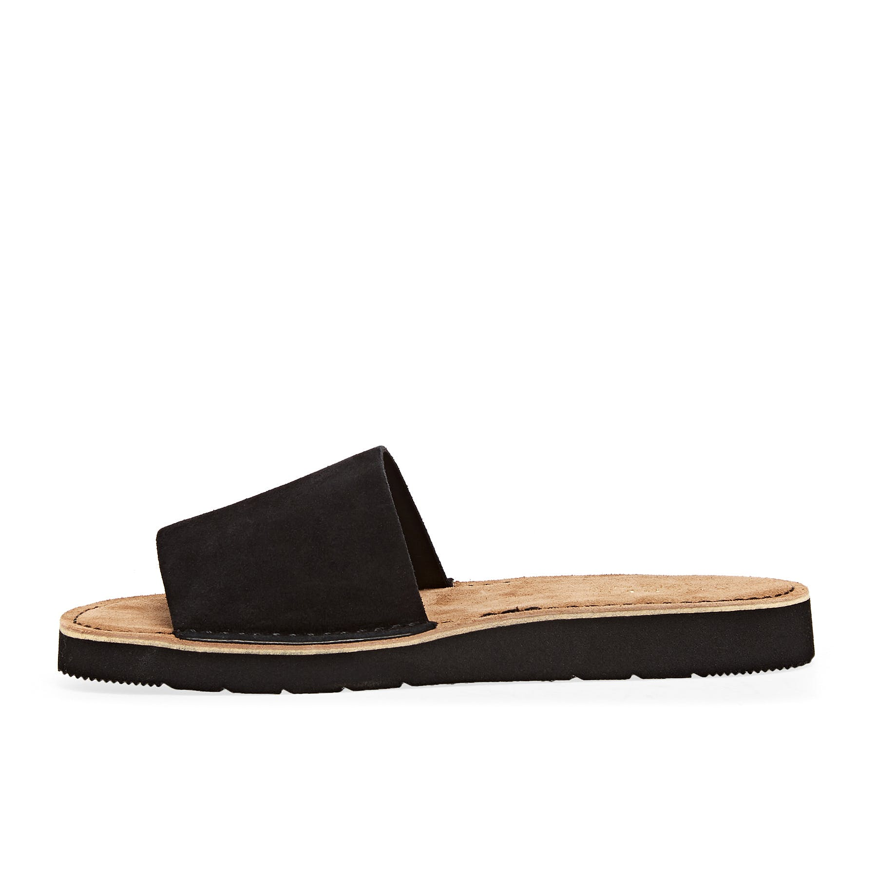 Black Suede All Sizes Clarks Originals Lunan Womens Footwear Sliders