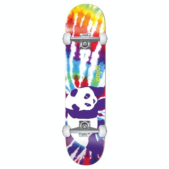 Enjoi Tie Dye Yth Fp Complete Kids Skateboard