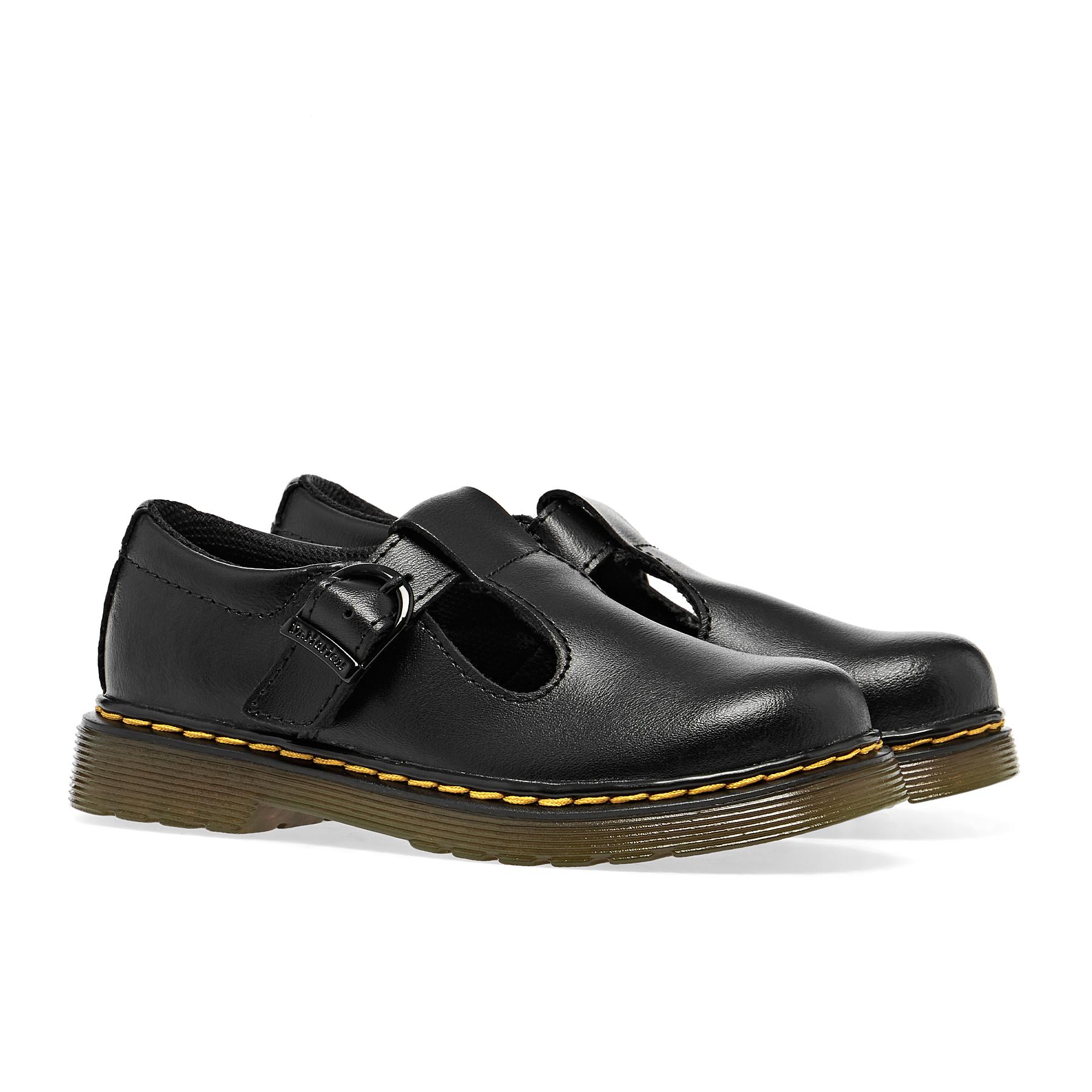 Dr Martens Polley Brogue T Kids Shoes