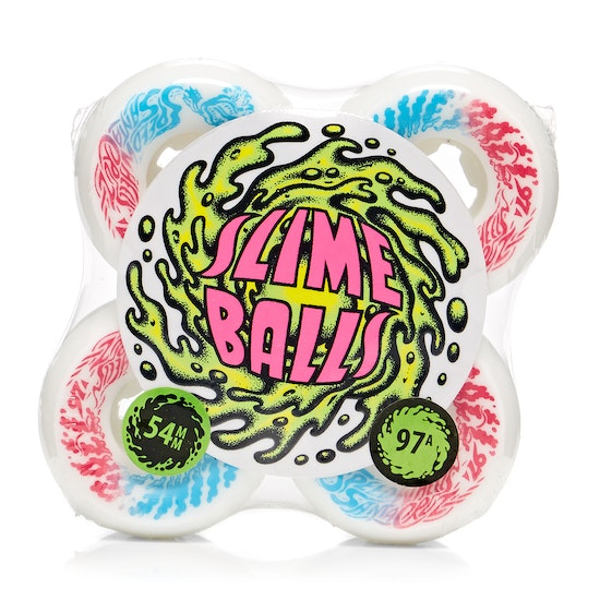 Santa Cruz Slime Balls Vomit Mini 97a Skateboard Wheel