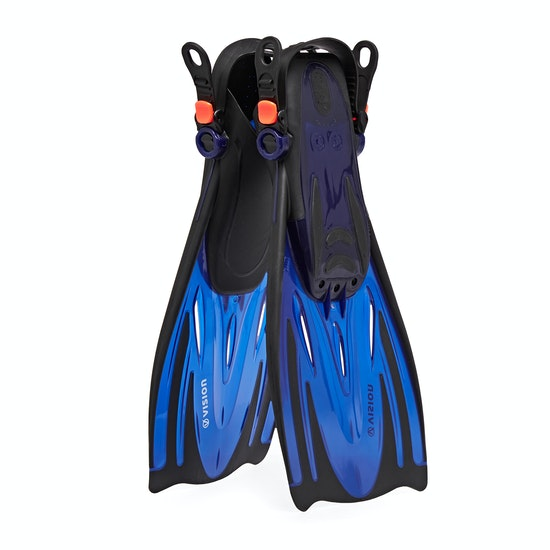 Vision Open Heel Dive Fin Surf Accessory